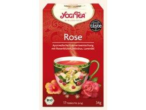 BIO ajurvédský čaj Růže 17 x 1,8g