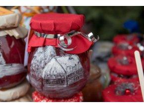 Vánoční marmeláda z lesních jahod 220 ml