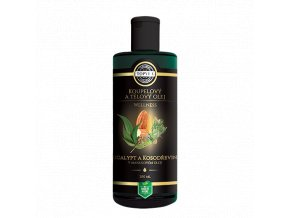 Tělový a koupelový olej - Eucalypt a Kosodřevina v mandlovém oleji 200 mli