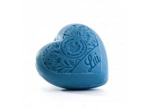 Mýdlo ve tvaru srdce - Rebel 250 ml