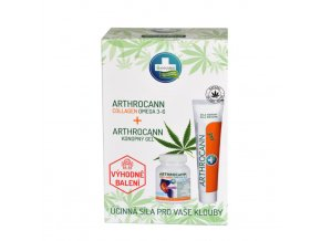 ARTHROCANN Gel + ARTHROCANN Collagen 75ml + 60 tbl