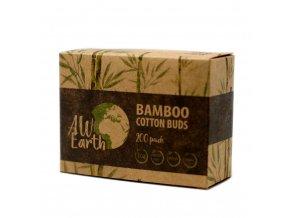 Bambusové vatové čisticí tyčinky