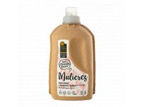 Mulieres - Koncentrovaný prací gel - Růžová zahrada 1,5 l