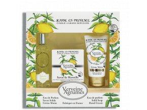 Jeanne en Provence Dárková sada - Verbena a citrón