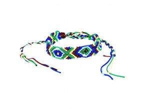 Náramek - barevný, indianský styl 2