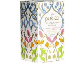 PUKKA Ajurvédský Výběr bylinných čajů 20 x 1,7g