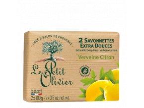 Le Petit Olivier Extra jemné mýdlo - Verbena a citrón, 100g
