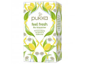 Pukka Ajurvédský BIO čaj Feel Fresh 20 x 1,6g