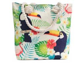 Plážová taška - Tropický Tukan
