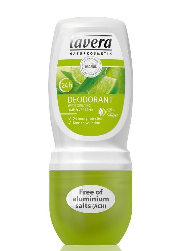 LAVERA Jemný deo roll-on BIO Verbena - BIO Limetka 50ml