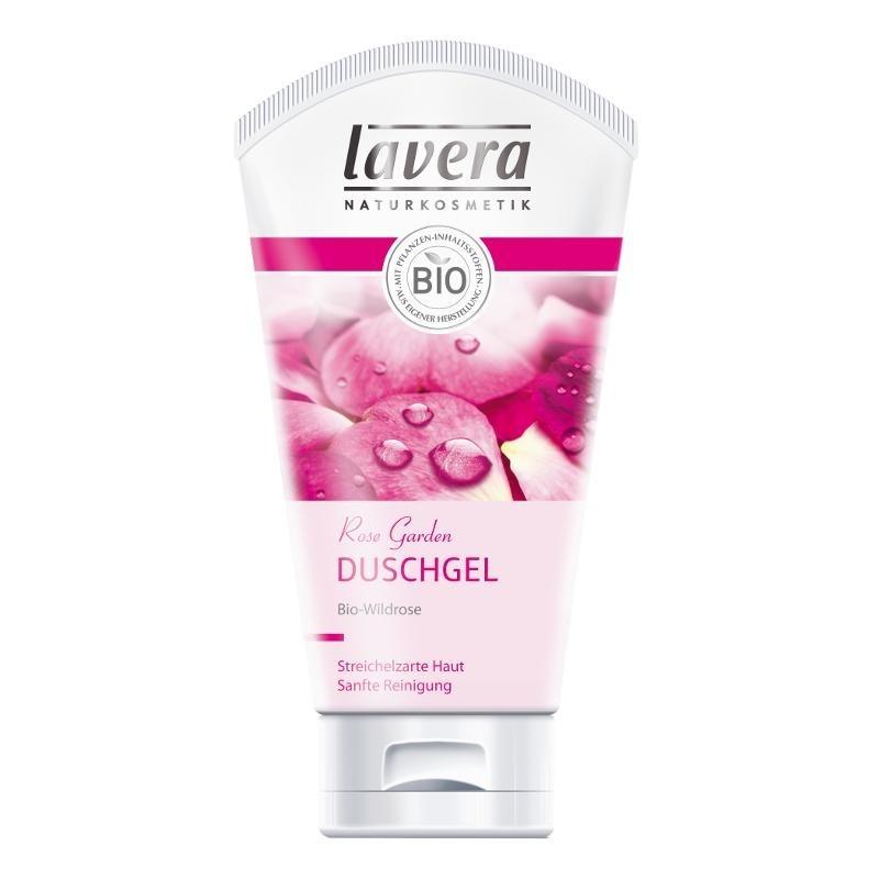 LAVERA Body SPA Sprchový a koupelový gel BIO Divoká růže 150ml