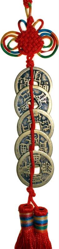 MAUR.cz Feng Shui - Pět mincí - Volání peněz