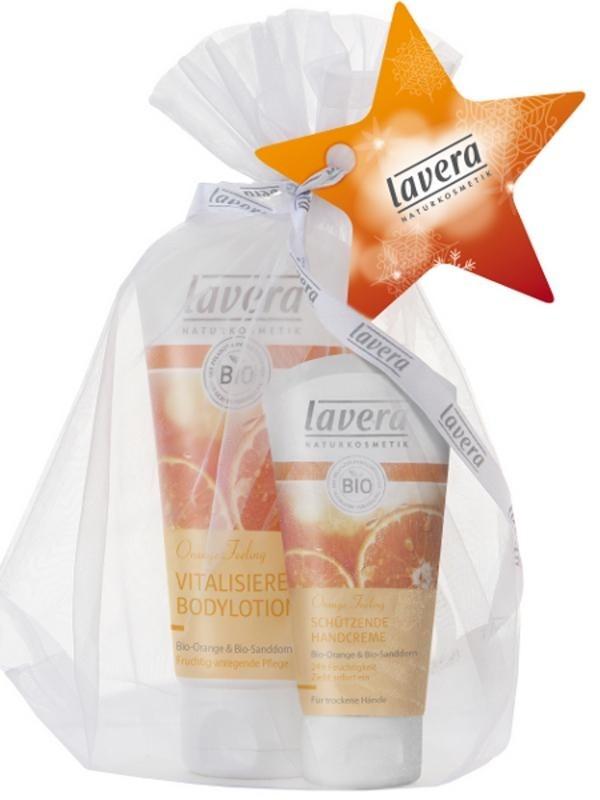 LAVERA Body SPA Dárkové balení Tělové mléko+Krém na ruce 150ml