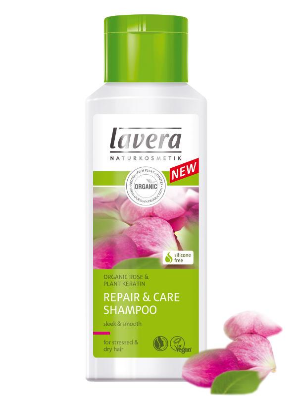 LAVERA Šampon Repair & Care pro suché a namáhané vlasy 200ml