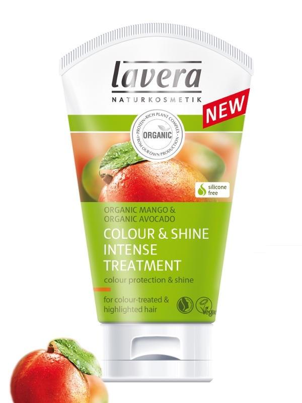 LAVERA Vlasová kúra Colour & Shine pro barvené a melírované vlasy 125 ml