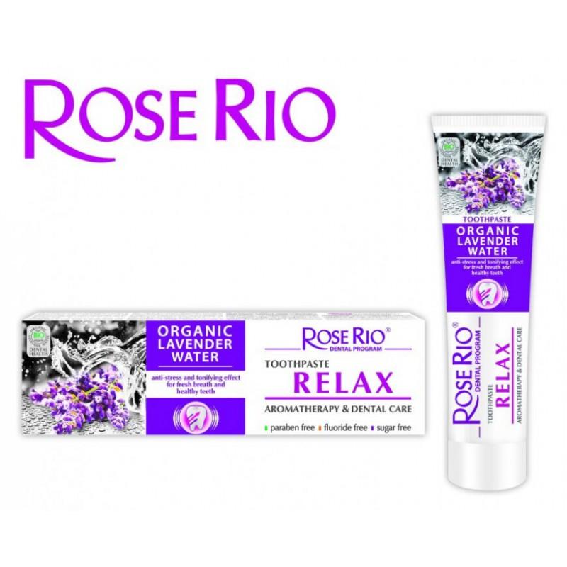 Rose Rio Zubní pasta RELAX-Aromaterapická/dentální péče 65ml