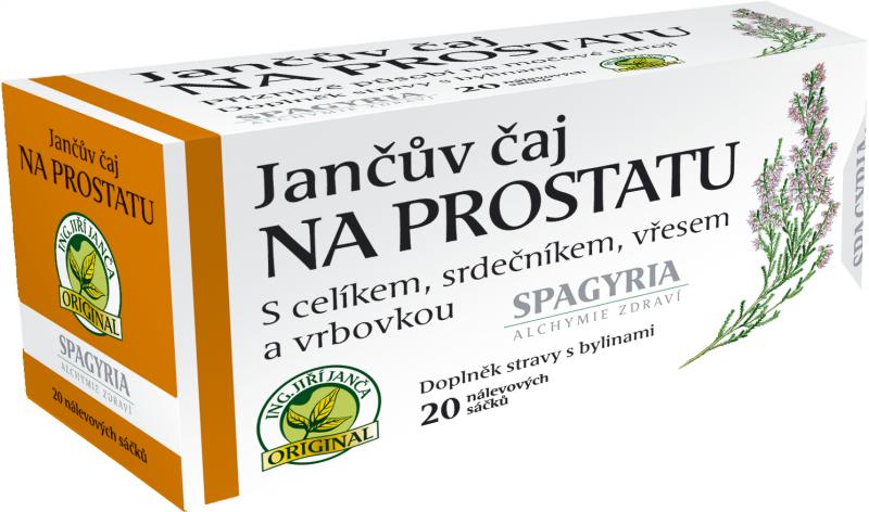 Spagyria Jančův čaj na prostatu 20 n.s.