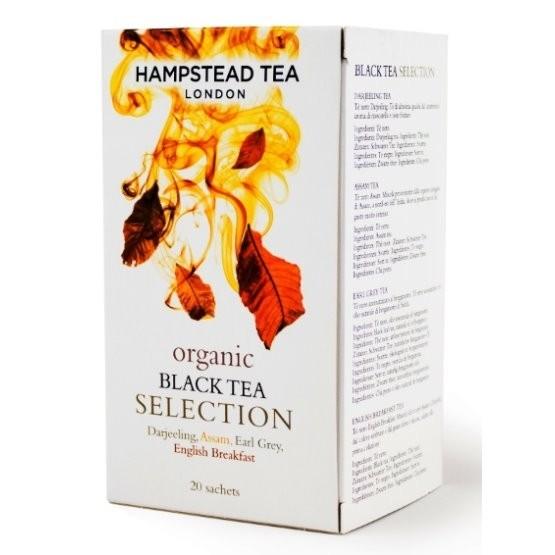 Hampstead Tea London BIO selekce černých čajů 20ks