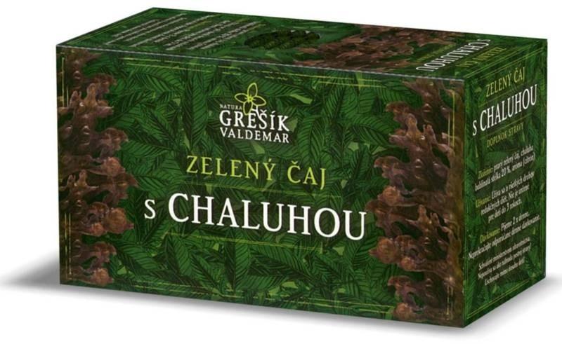 Waldemar Grešík Zdravotní zelený čaj s chaluhou 20n.s.
