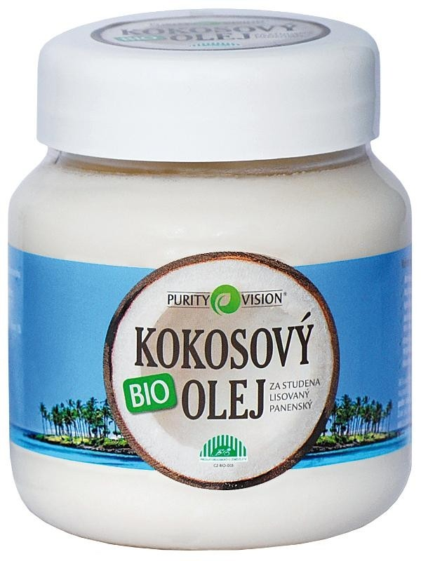 Purity Vision BIO Kokosový olej panenský OBJEM: 700ml