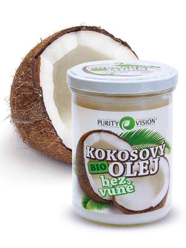 Purity Vision BIO Kokosový olej bez vůně 400ml