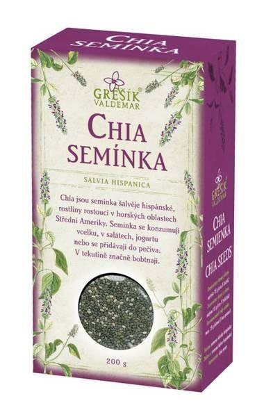 Waldemar Grešík Chia semínka 200g