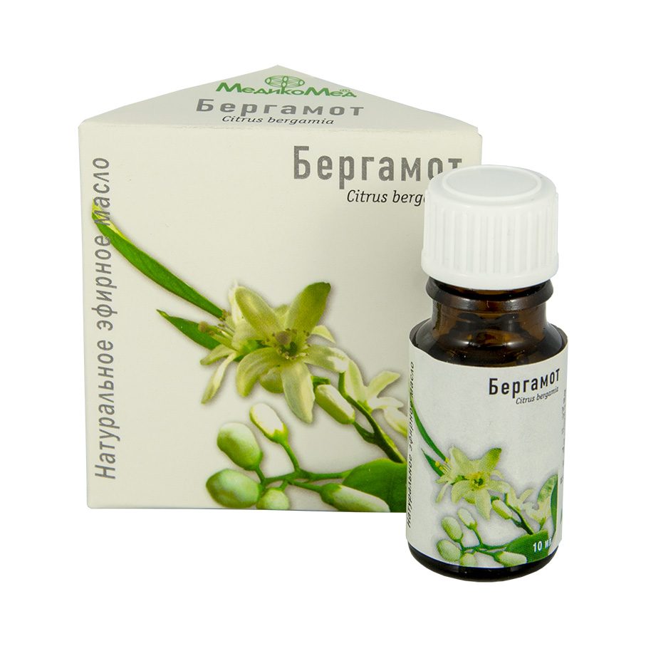 MEDIKOMED Éterický olej Bergamot 10ml