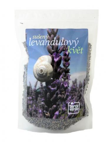 Yellow & Blue Levandulový květ sypaný (sáček) 50g
