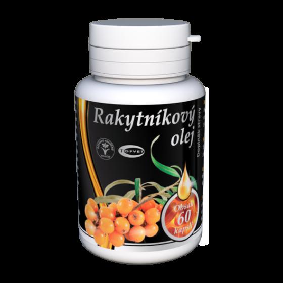 TOPVET Rakytnikový olej - tobolky 60ks