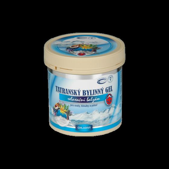 TOPVET Tatranský bylinný gel - chladivý 250ml +20% ZDARMA