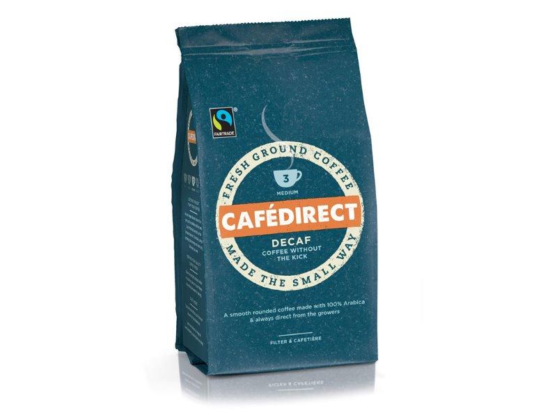 Cafédirect Mletá káva bez kofeinu 227g