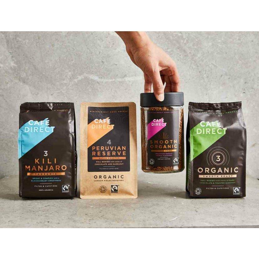 Cafédirect BIO Smooth instantní káva 100g