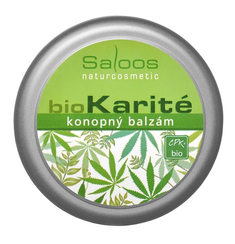 Saloos BIO Karité - konopný balzám 50ml