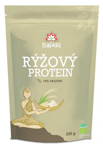 ISWARI BIO Rýžový protein 74% 250g