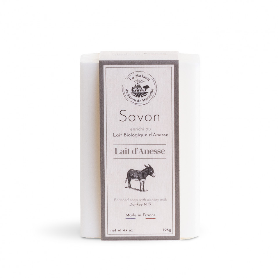 La Maison du Savon de Marseille Mýdlo s oslím mlékem -Anesse Lait frais biologique (Čerstvé mléko) 125g