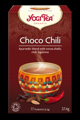 YOGI TEA BIO Čaj Choco Chili 17x2,4g