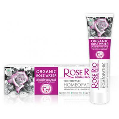 Rose Rio Homeopatická zubní pasta AROMATERAPEUTICKÁ/HOMEOPATICKÁ PÉČE 65ml