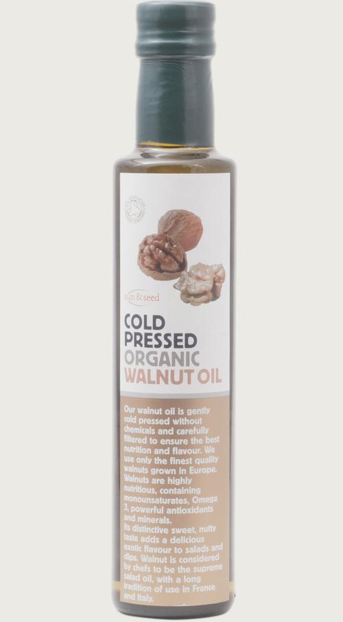 Sun and Seed BIO RAW Olej z vlašských ořechů 250ml