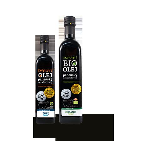 Organic way Bio Konopný olej panenský 500ml