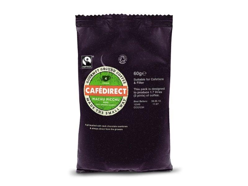 Cafédirect BIO Machu Picchu mletá káva 60g