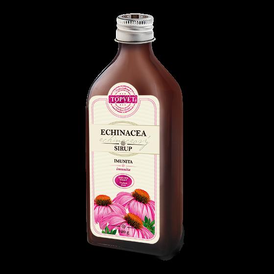 TOPVET Bylinný sirup Echinacea 320g