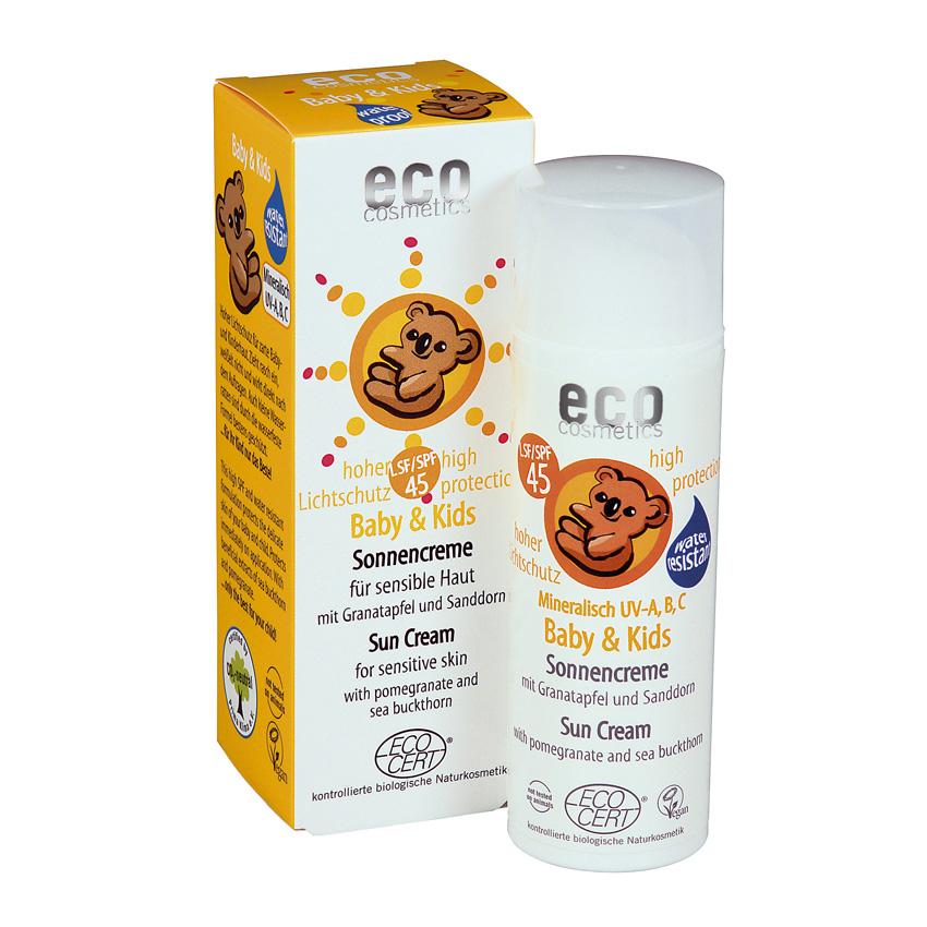 ECO Cosmetics ECO Baby sluneční ochranný krém SPF45 - 50ml