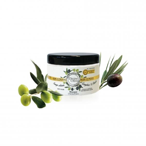 Jeanne en Provence Výživná maska na vlasy Olive 300ml