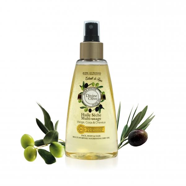 Jeanne en Provence Víceúčelový výživný olej na tělo a vlasy Oliva 150ml