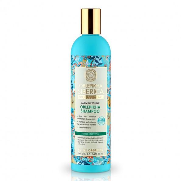 Natura Siberica Rakytníkový šampón pro všechny typy vlasů Maximální objem 400ml