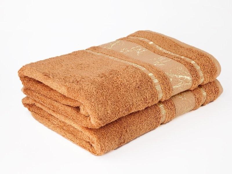 Ariatex Bambusový ručník Bamboo LIFE - hnědý