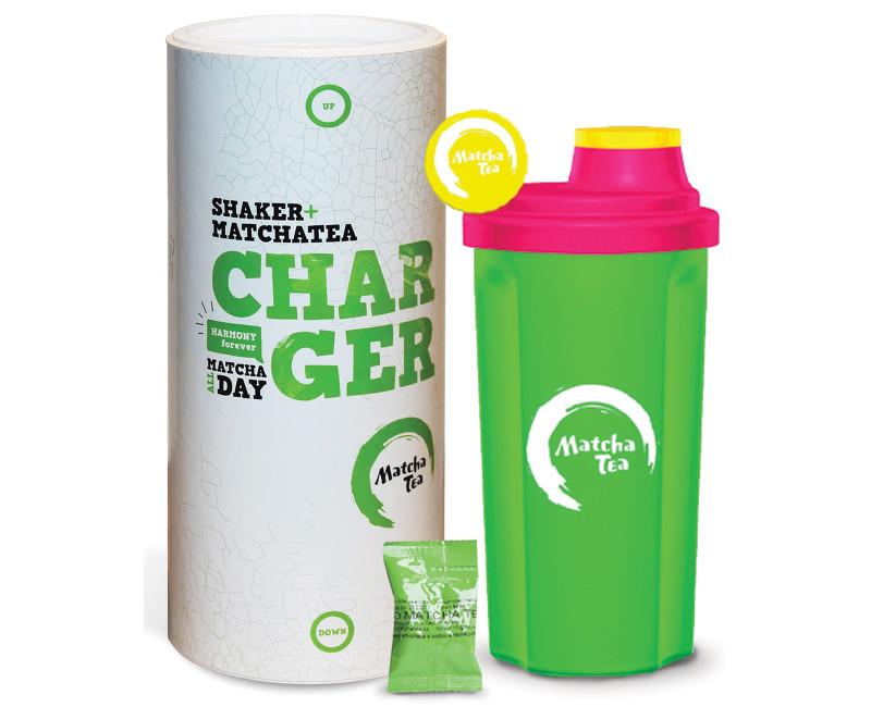 Bio Matcha Tea Charger 30g + šejkr D