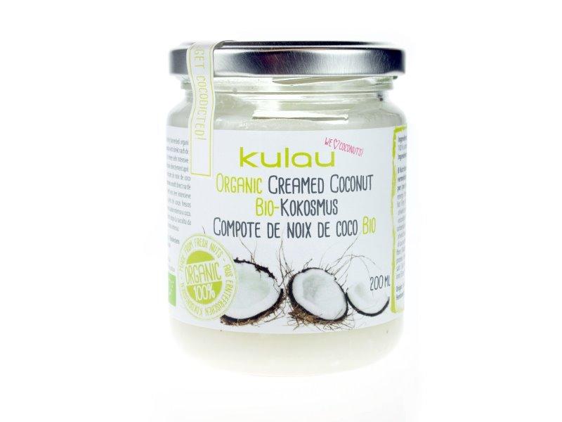 KULAU BIO RAW kokosové máslo OBJEM: 500ml