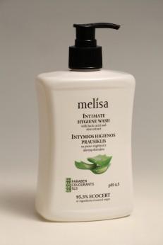 Melica Přípravek na intimní hygienu s mléčnou kyselinou a extraktem aloe 300ml