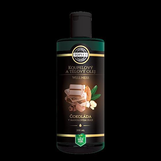 TOPVET Čokoláda v mandlovém oleji 200ml